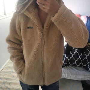 Eddie Bauer - teddy bear jacket
